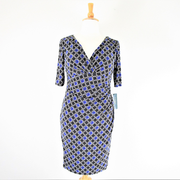 Lauren Ralph Lauren Dresses Plus Size Sheath Dress Nwt Poshmark